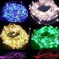 Free shipping 20M Copper rope 200pcs waterproof lights LED  Line Lamp ,Festival decoration,christmans decoration lamp