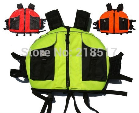 Best Quality Snorkel professional life jacket canoe inflatable boat beetle swimwear saving vest D-1411(China (Mainland))