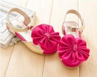 Free Shipping 2014  little daisy princess open toe female child sandals