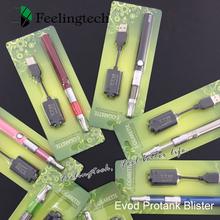EVOD E Cigarette kit 650mAh 900mAh 1100mAh Rechargeable Battery Compatible with mini protank atomizer 1 evod