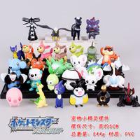 Free Shipping Anime Cartoon Pokemon Mini PVC Action Figure Model Toys Dolls 29pcs/set PKFG003