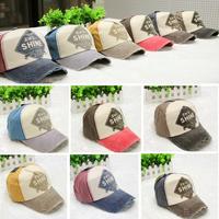 Spring 2014 Brand New Cotton Mens Hat letter unisex Women sun hats baseball cap snapback casual caps trucker hats