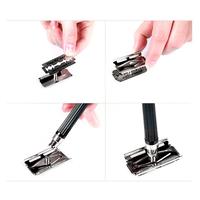 2014 Classic Men's Manual Shaver Safety Shaving Sharp Double Edge Blade Razor