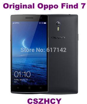 Оригинал новый OPPO найти 7 X 9077 32 ГБ найти 7 32 ГБ сотовый телефон четырехъядерных процессоров 5.5 большой экран 13MP Wifi бесплатная доставка