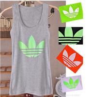 2014 Summer Cotton Tank Tops Shirts Women t- shirt Blouses 9 Colors (5pcs get 5% Off)