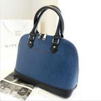 2014 New Fashion Luxury Women's Shoulder Handbags Lady PU Leather Shoulder Bag Black