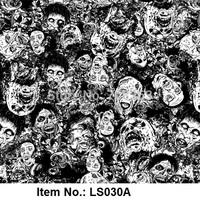 Item No.LS030A Water Transfer Printing Film of Skull Pattern