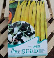 15pcs/pack Seed Tai Chi Bean Seeds Phaseolus Vulgaris China Rare Bean Seed