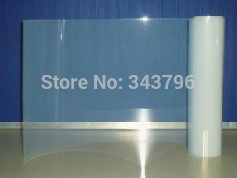 0.85mx30m Roll Waterproof Transparent Film,Screen Plate Making,design,PCB etc for Mimaki,Roland,Mutoh,Epson,HP,Canon,Novajet(China (Mainland))