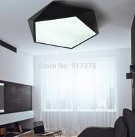 New modern simple  LED geometric shape ceiling lamp for bedroom ,balcony,bathroom