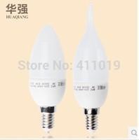 X10pcs Good Price New Type E14 3W Led light candle lamp SMD 2835 220V chandelier led light lamp lighting spotlight Free ship