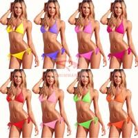 Hot Sale New Summer 2014 Fashion Sexy Bikini Swimwear China Shoulder Strap bikinis set wholesale Cheap Beach swimsuits