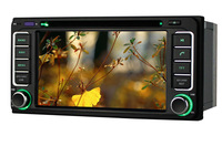 Car Head Unit For Toyota 4Runner ,2din 800Mhz CPU Car DVD Player styling,support DVR,Support Iphone5 5s car audio radio Stereo