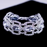 New Design Handmade Bracelet,Vintage Individual Bracelet,Silver/Platinum Plated Top Quality Austrian Crystal Bracelets BG-22