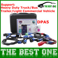 2014 Professional Heavy Duty Truck Diagnostic Scanner DPA5 Dearborn Protocol Adapter Without Bluetooth OBD2 CNH DPA 5 DHL Free