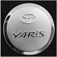 Good quality stainless steel Yaris gas tank cover
