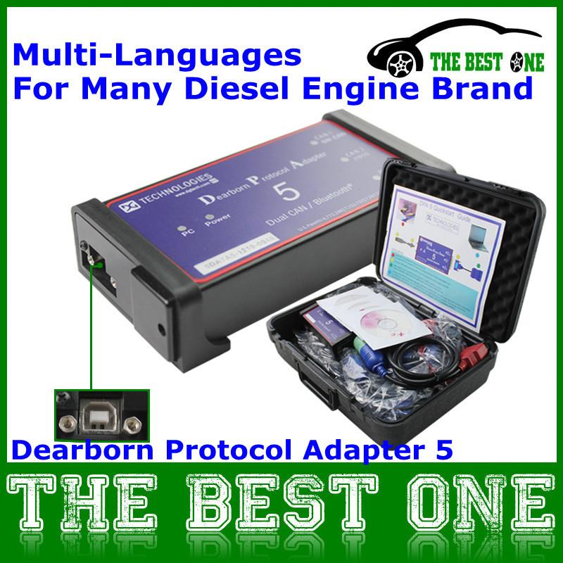 2014 Best Heavy Duty Truck Scanner Obd2 CNH Dearborn DPA5 DPA 5