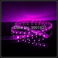 Waterproof 3M 3528 SMD Purple Light LED Strip Lamp (220V)