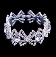 Brand New Fashion Jewelry,Butterfly Knot Rhinestone Bracelet,Hot Wholesale Factory Direct Sale,European Charm Bracelet BG-25