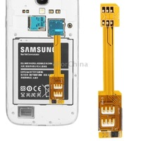 Dual SIM Card Adapter for Samsung Galaxy S5/i9600,S4/i9500,S III/i9300,Note III/N9000,Note II/N7100,Mega 6.3/i9200,Grand 2/G7106