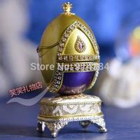 Egg carving jewelry box music box music box gifts girlfriend birthday ball quality crystal wedding gift small gift
