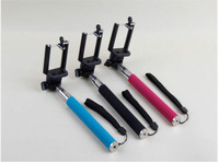 Free Shipping!Handheld Self-Timer Monopod Action Camera Tripod+Holder for SJ4000 or smart phone