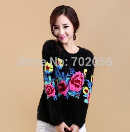 knited crochet flroal Knitting outfit lady shawl wraps Sweater #36389(China (Mainland))