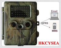 Waterproof design Hunting camera GPRS/MMS Wildlife Digital Infrared Trail Camera hunting animal equipments  Free Shipping