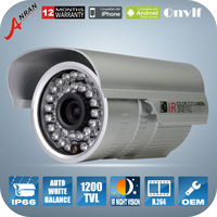 ANRAN SONY sensor 1200TVL HD Outdoor Indoor Weatherproof IR-CUT 36 IR leds OSD Surveillance CCTV Security Camera