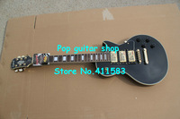 Wholesale  Newest Black EPI Custom 3 Pickups Electric Guitar Gold Hardware Free Shipping