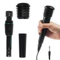 Undirectional Wired & Wireless 2in1 Handheld Microphone karaoke KTV Stage Mic Receiver System HOT