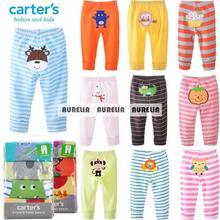 2014 otoño 0m-24m bebé carreteros pantalones carter's niño de dibujos animados niña niños ropa para bebés creppers cuerpo párrafo pantalones bebe(China (Mainland))