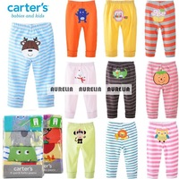 2014 autumn 0M-24M Carters Baby pants Carter's cartoon boy girl Infant Toddlers Clothing creppers Body Para Bebe trousers