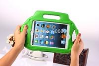 High quality hotselling Foam shockproof rugged kids EVA protective handle case cover for ipad MINI AND IPAD MINI 2 Retina