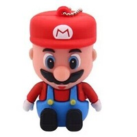 mini pen drive Super Mario Mary character gift pen drive 4gb 8gb 16gb 32gb keychain cartoon usb flash drive pendrive discount