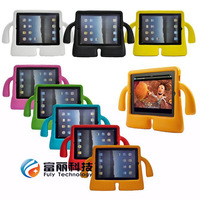 Lovely TV Shape Soft Rubber Foam EVA Kid Shockproof Cover Case for ipad 234 /ipad air ,25pcs/lot DHL free