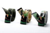 20pcs/lot Men Brand Canvas Belts Quality Male Strap Military Belt Men's Tactical Camouflage Canvas Belt Automatic Buckle 0071