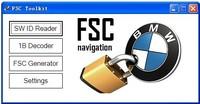 FSC CODE Calculator Software for BMW Navigation