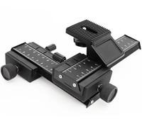 Supernova Sale 4 way Macro Shot Focusing Focus Rail Slider for CANON NIKON SONY Camera D-SLR and Tripod