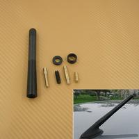 """12cm Car Designer  aerials Short Screw 4.7""""Antenna Conversion Type Black Carbon Fiber For Corolla  2001-2011"""