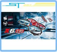 2014 New Syma X6 Super Ship 2.4G 4CH 3D Continuous roll RC Quadcopter RTF VS U816A U818A Drone FPV X350 pro Drop Shippin boy toy