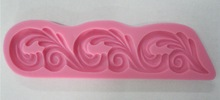 3D Silicone spray design fondant cake molds soap chocolate mould for bake ware-c259(China (Mainland))