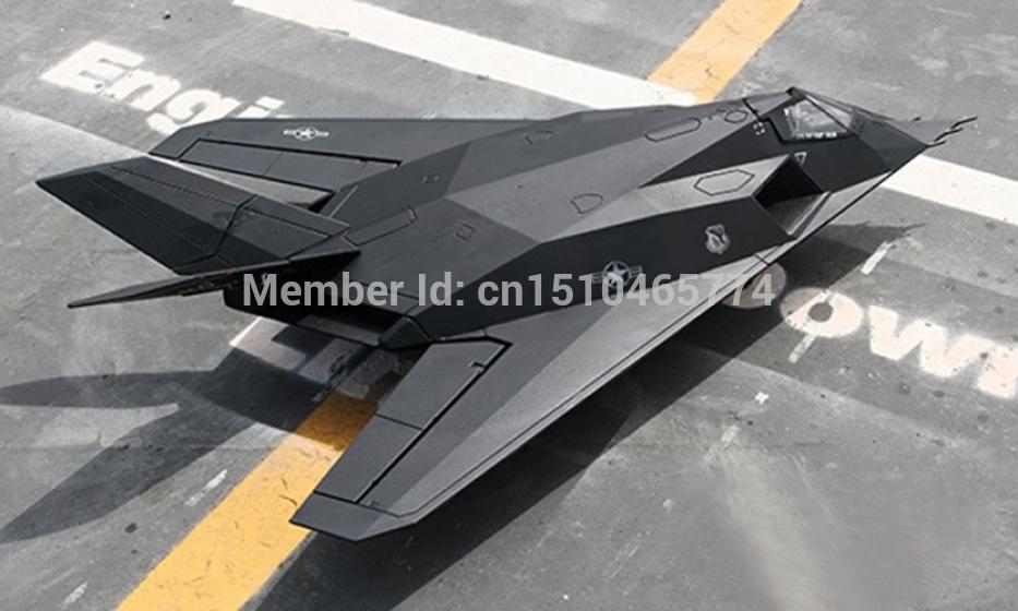 LanXiang F117 Nighthawk 70mm EDF Jet plane ARF RC model(China (Mainland))