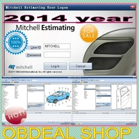 2014 06  Mitchell UltraMate JUNE 7.0  2014 june month version newest  Collision Estimating System  for cars