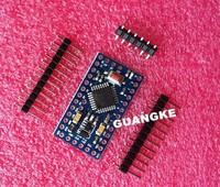 Free Shipping 10pcs/lot Pro Mini 328 Mini 3.3V/8M ATMEGA328 3.3V 8MHz for arduino