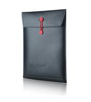 "BLACK Magic Folder Sleeve PU Leather Envelope Case Skin Bag For MacBook Air 13"" 13.3 inch FREE SHIPPING"