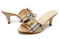 2014 New Fashion Wedge Sandals For Women Brand Designer Summer Shoes Slides Slippers High Heel Pumps Eu36-42 Black Red Beige
