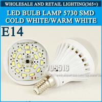LED bulb lamp bulbs led lights E14 3W 5W 7W 9W 5730SMD Cold white/warm white AC220V 230V 240V Free shipping