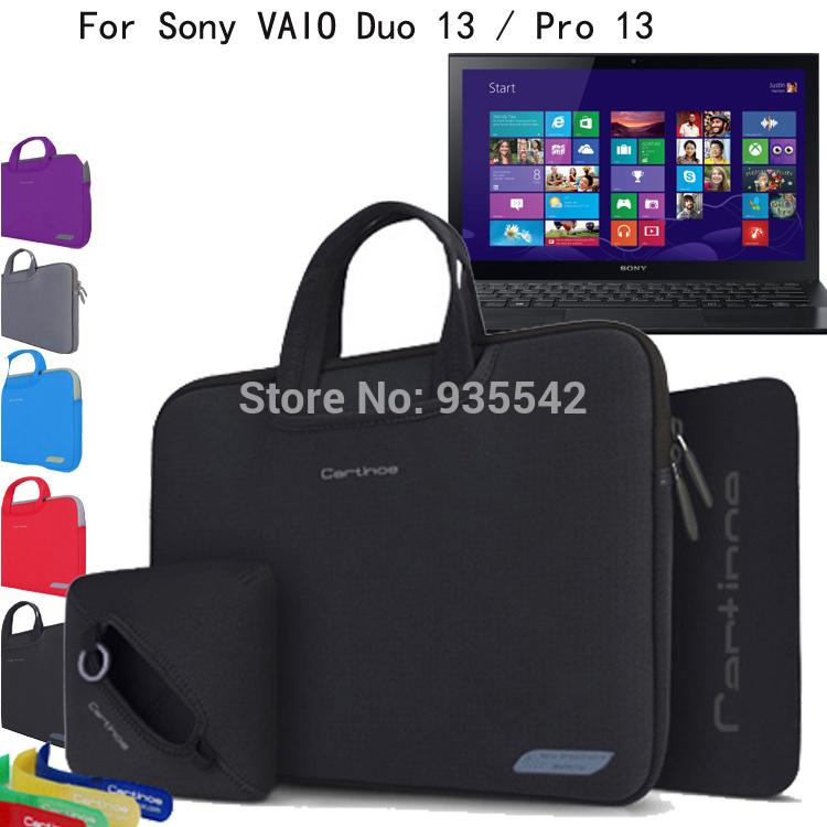 Сумки для ноутбуков и Чехлы Cartinoe Sony VAIO Duo 13 SVD13223CXB /pro 13 SVP13213CXB 13.3' 4 1 Cartinoe Breath series карта памяти memorystick duo pro sony ms hx16b t1