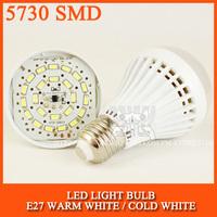 LED bulb lamp bulbs led lights E27 5730SMD 3W 5W 7W 9W 12W 15W 24W 36W 48W Cold white/warm white AC220V 230V 240V